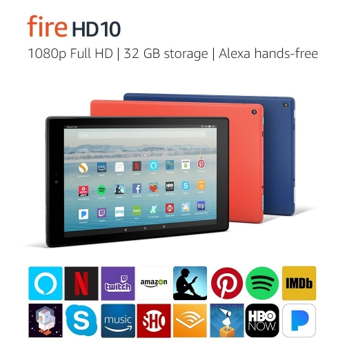 Máy Tính Bảng Kindle Fire HD10 2018 ( 32GB )