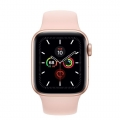 Apple Watch Series 5 LTE, 44mm Sport Band - Vỏ nhôm vàng - Dây cao su